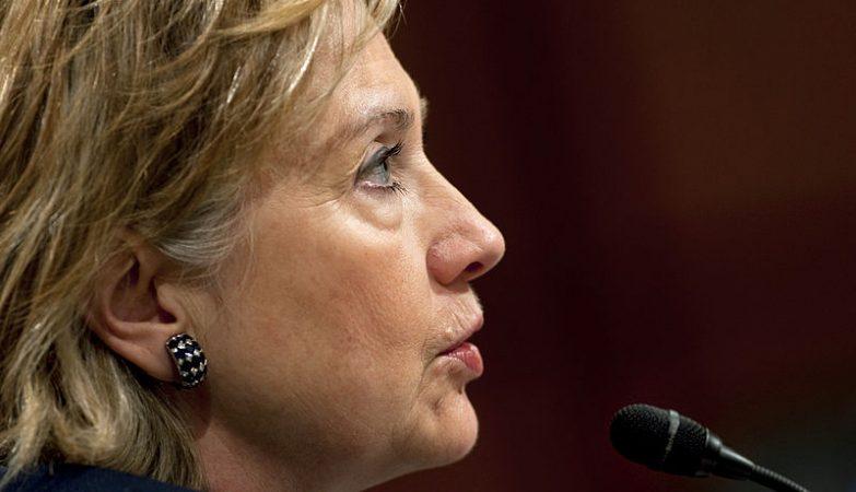 Hillary Clinton, ex-vice-presidente de Barack Obama, ex-primeira-dama dos EUA, agora candidata a presidente