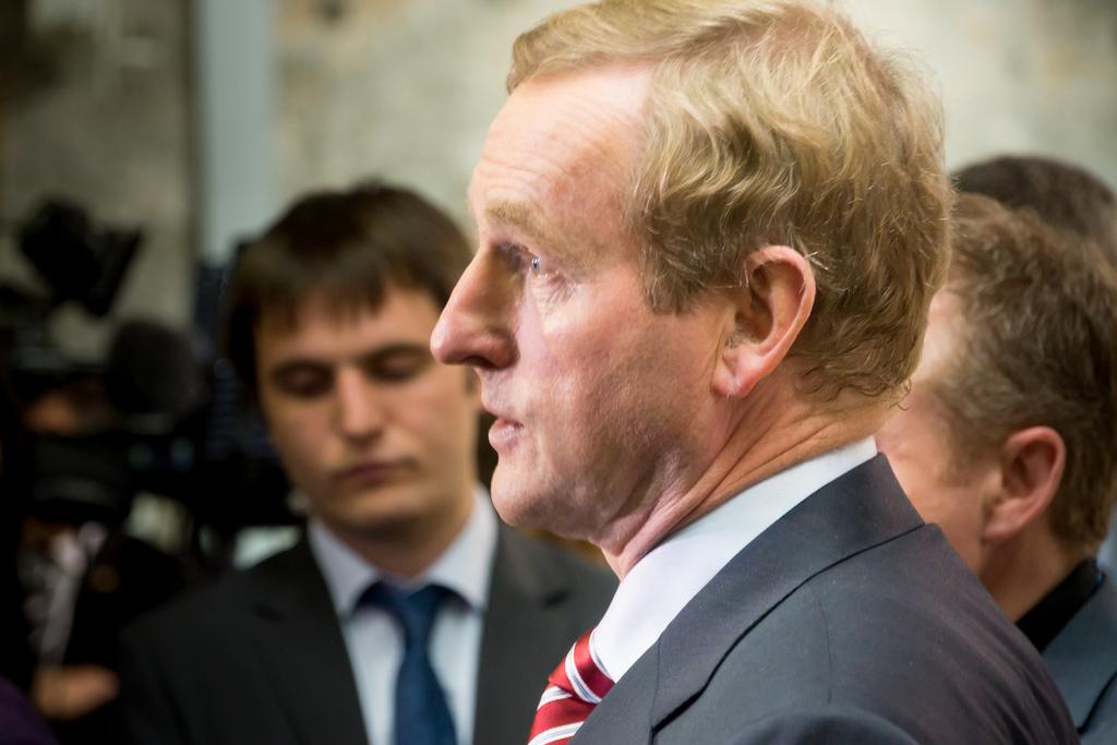 O Primeiro-ministro da Irlanda, Enda Kenny
