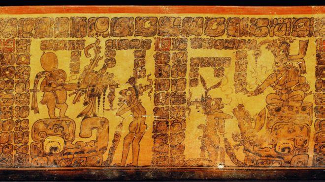 Desenhos em cerâmica dos Maias podem ser primeira banda desenhada conhecida