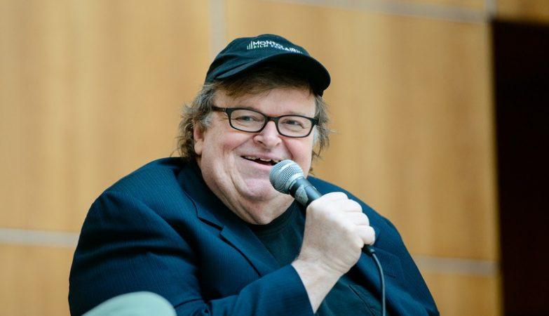 O realizador norte-americano Michael Moore