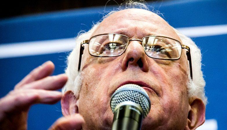 Bernie Sanders, proto-candidato democrata às presidenciais norte-americanas