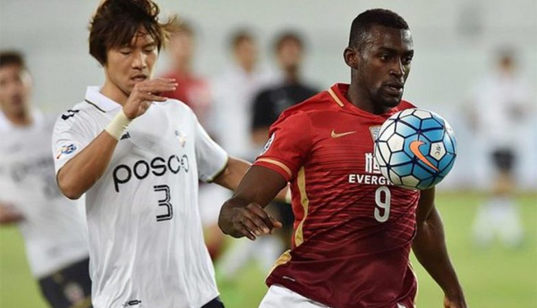 Jackson Martínez no Guangzhou Evergrande, da China