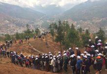 Butão celebra nascimento do príncipe com 108 mil árvores