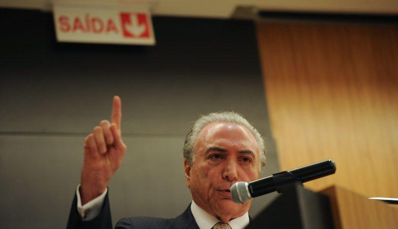 Michel Temer, vice-presidente brasileiro