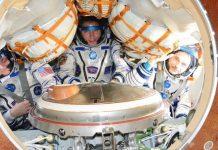 Scott Kelly, Sergueï Volkov e Mikhaïl Kornienko regressam da Estação Espacial Internacional (EEI)