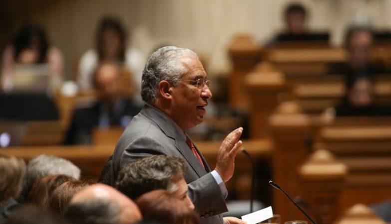 O primeiro-ministro António Costa