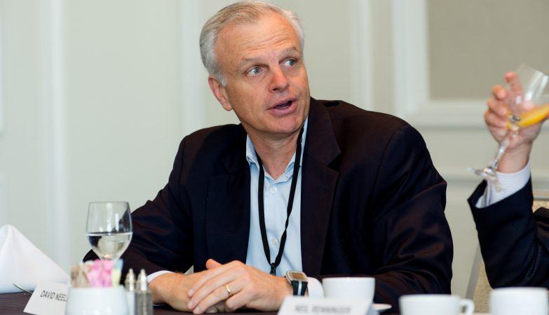 David Neeleman, dono da companhia aérea brasileira Azul