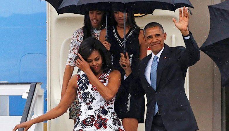 Barack Obama chega a Cuba