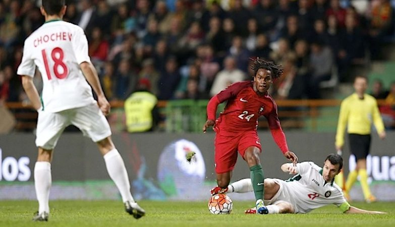 Renato Sanches estreou-se na selecção nacional frente à Bulgária
