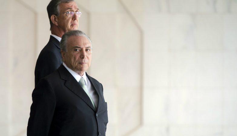 O vice-presidente brasileiro, Michel Temer