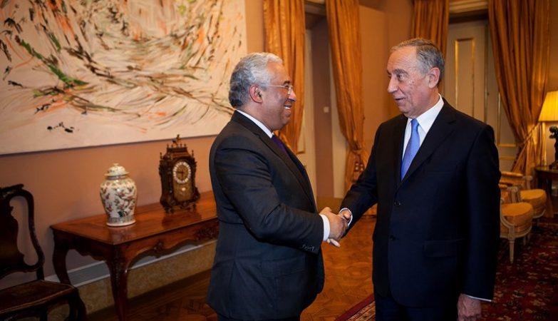 O Presidente da República, Marcelo Rebelo de Sousa, reúne com o primeiro-ministro António Costa