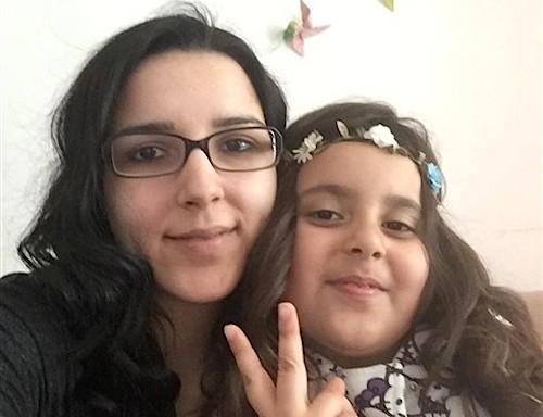 Angelina Silva, de Cinfães, e a filha, de sete anos, são duas das vítimas do acidente