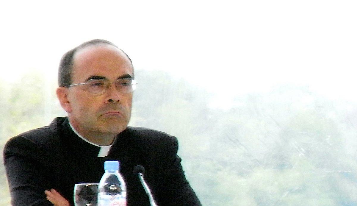 O cardeal Philippe Barbarin, arcebispo de Lyon