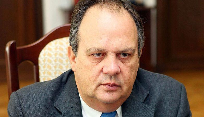 O ministro da Cultura, João Soares