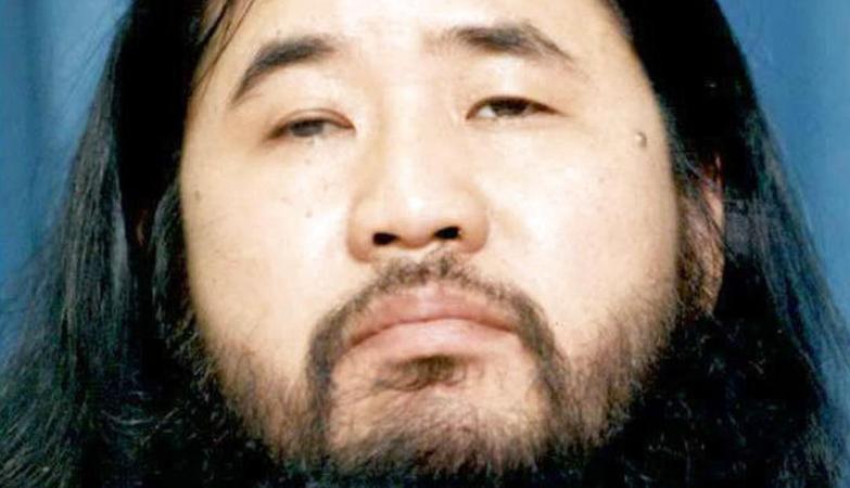 Shoko Asahara, o fundador e líder da seita responsável por um ataque no metro de Tóquio com gás Sarin, em 1995