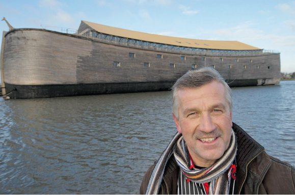 A nova Arca de Noé foi construida por Johan Huibers