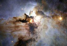 Os tumultuosos mares  de estrelas de Sagitário