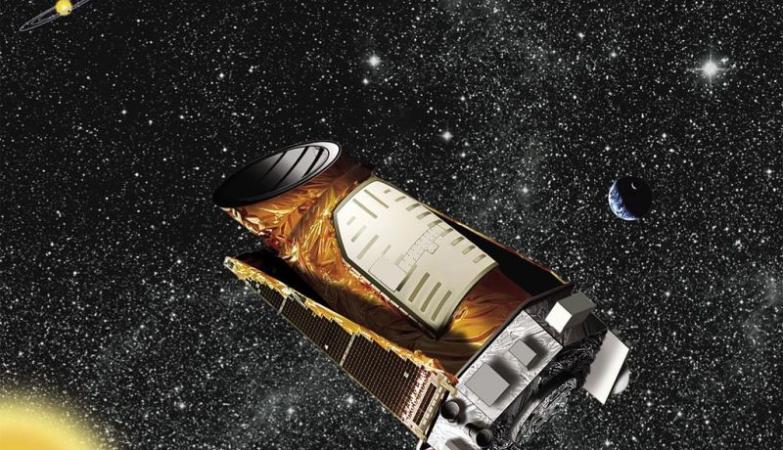 O telescópio espacial Kepler, da NASA