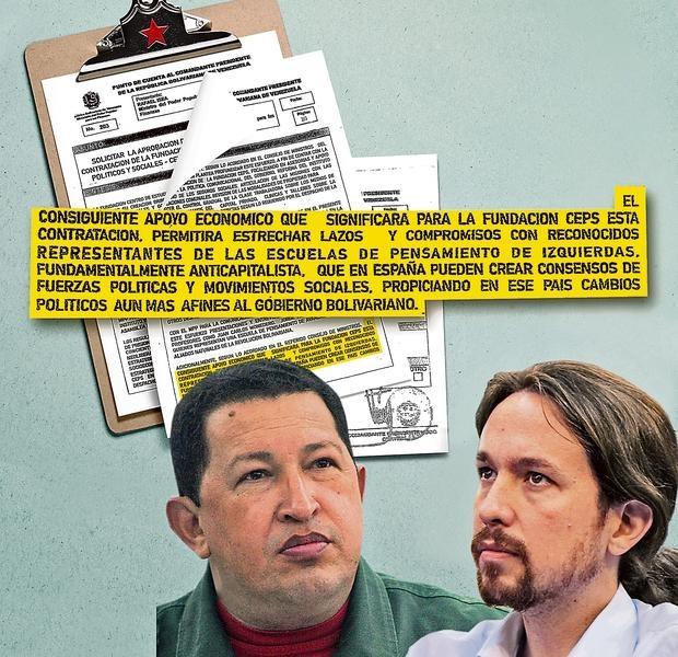 Extrato do documento assinado por Hugo Chávez onde pedia a criação de um partido que criasse consensos de forças políticas e movimentos sociais de esquerda em Espanha