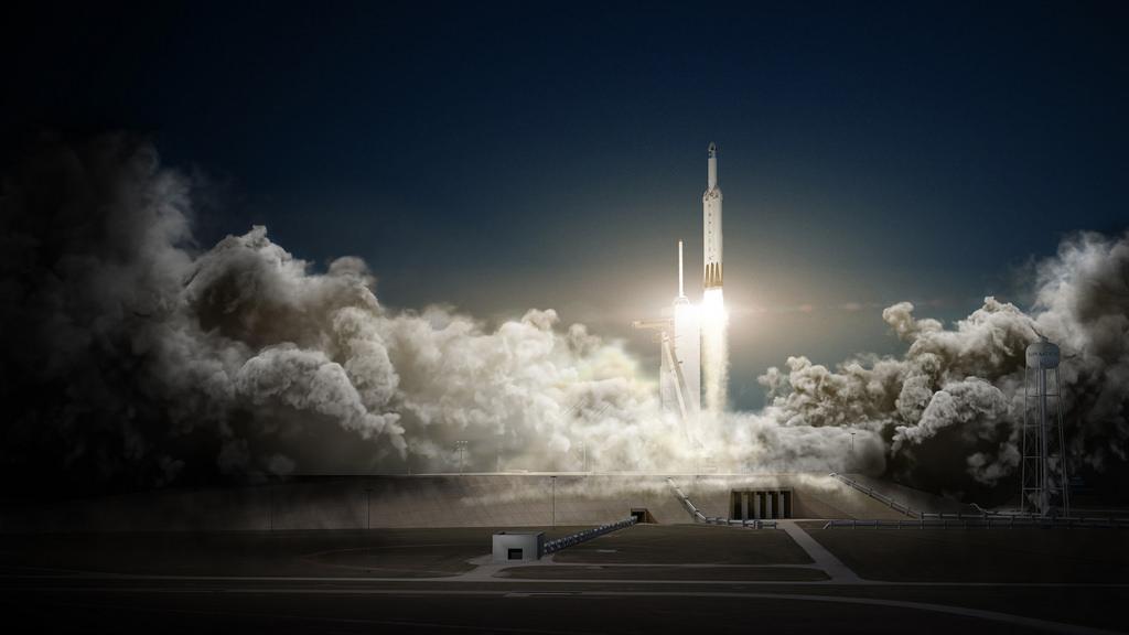Cápsula Dragon vai ser enviada para Marte, lançada da Terra pelo foguetão Falcon Heavy