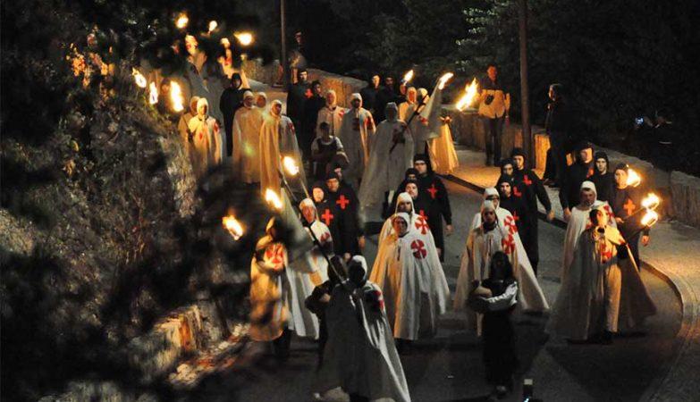 Festa Templária em Tomar, 30 de Maio de 2015.