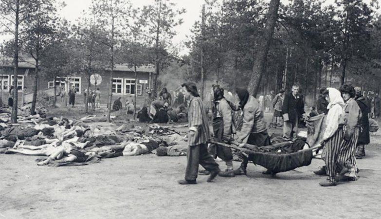 Libertação do Campo de Concentração Nazi de Berger-Belsen, em 17 de Abril de 1945.