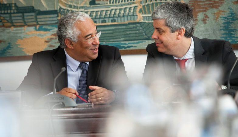 Primeiro-Ministro António Costa e Ministro das Finanças, Mário Centeno