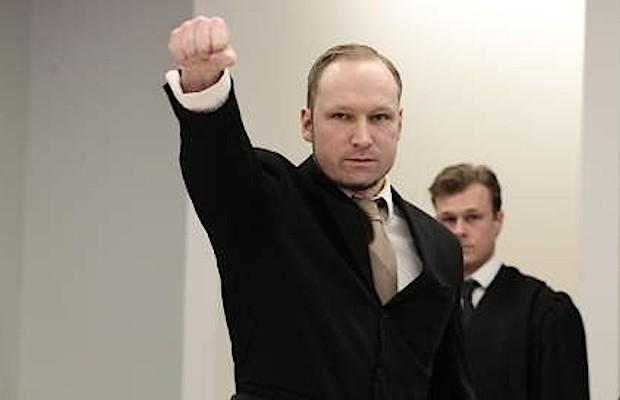 Anders Breivik, homicida de extrema-direita que matou 77 pessoas na Noruega