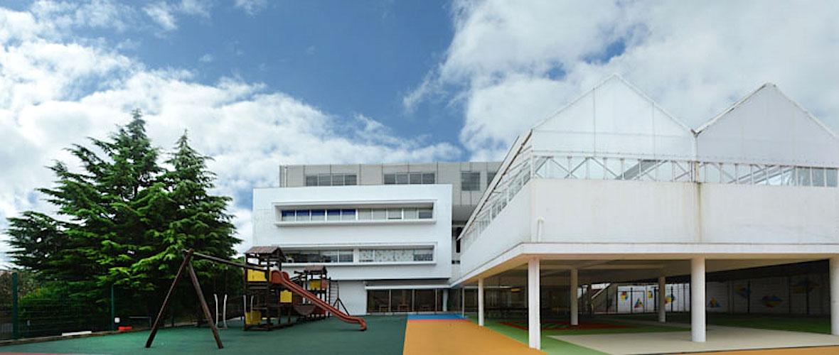 Instalações do Externato Liceal Paulo VI, em Gondomar