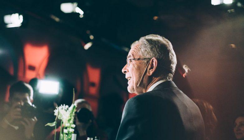 Alexander Van der Bellen, novo presidente da Áustria
