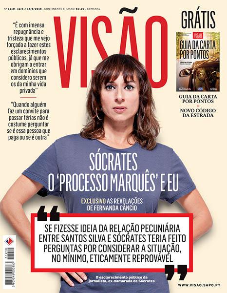 Capa da revista Visão de 12/05/2016