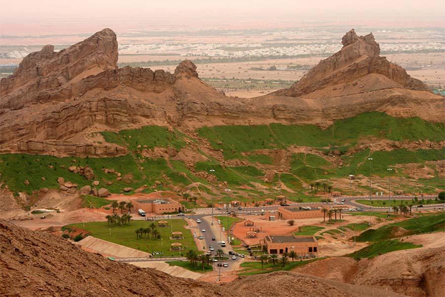 Monte Hafeet Shahin, em Al-Ain, Emirados Árabes Unidos