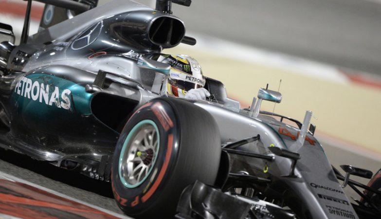 Nico Rosberg, Mercedes, no GP Bahrein 2016