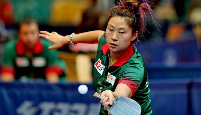 Shao Jieni, tenista portuguesa que vai representar o país nos Jogos Olímpicos do Rio de Janeiro