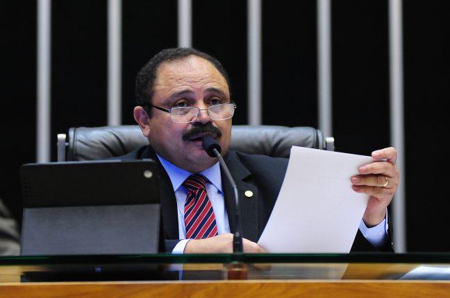 Waldir Maranhão, presidente interino da Câmara dos Deputados brasileira