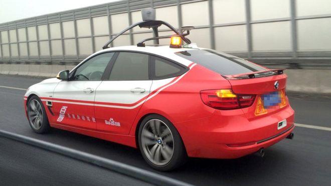 A Baidu está a desenvolver um sistema de inteligência artificial para comandar carros sem condutor