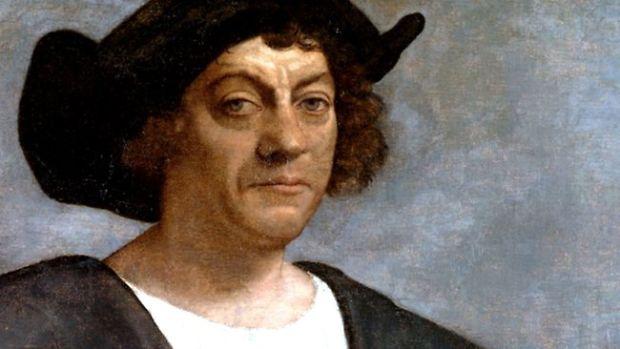 Retrato póstumo de Cristóvão Colombo, por Sebastiano del Piombo (1519)