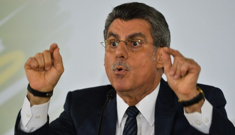 Romero Jucá, ex-ministro do Planeamento brasileiro