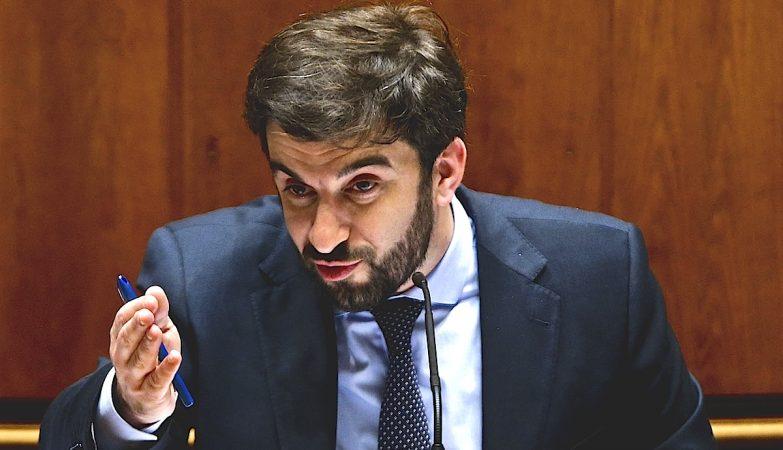 O Ministro da Educação Tiago Brandão Rodrigues
