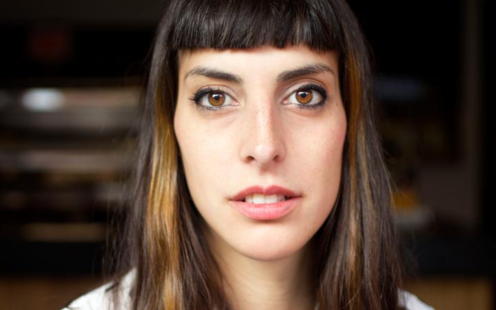A bailarina e activista catalã Moon Ribas - a primeira ciborgue do mundo