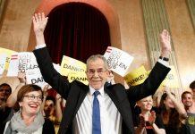 O candidato ecologista Alexander Van der Bellen venceu as Presidenciais austríacas, derrotando o candidato da extrema-direita Norbert Hofer