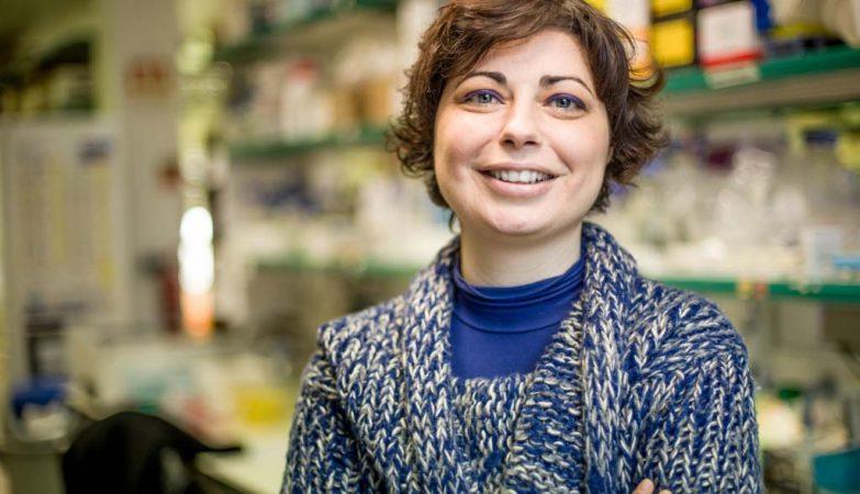 A investigadora Mónica Bettencourt Dias, do Instituto Gulbenkian de Ciência