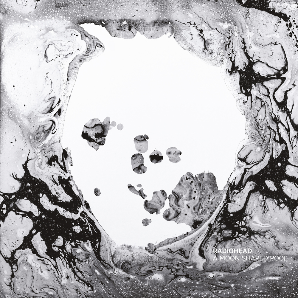 "Capa de ""A Moon Shaped Pool"", Radiohead, 2016"