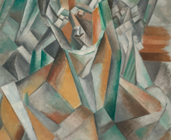 """""""Femme assise"""", Pablo Picasso (1909)"""