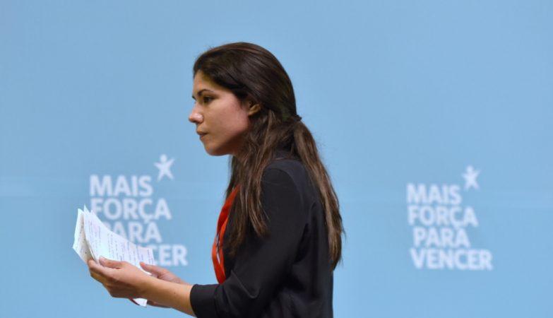 Mariana Mortágua na X Convenção do Bloco de Esquerda