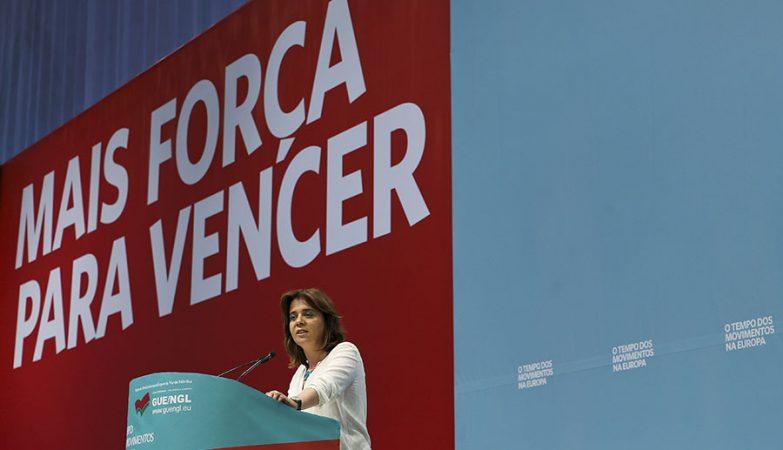 Catarina Martins na X Convenção do Bloco de Esquerda