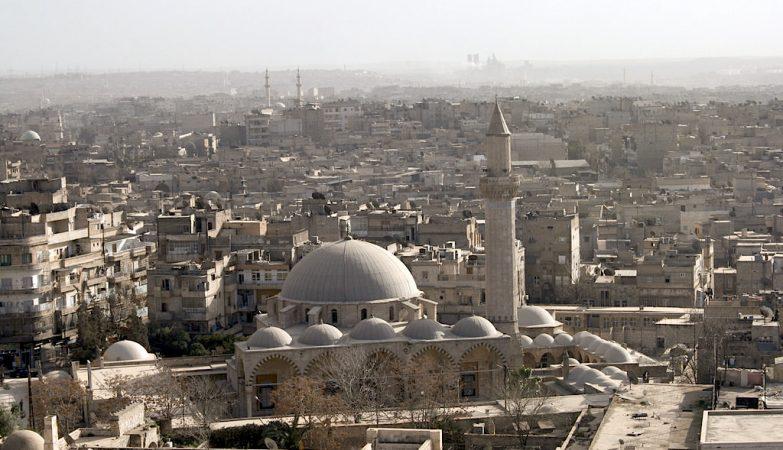 A cidade síria de Aleppo