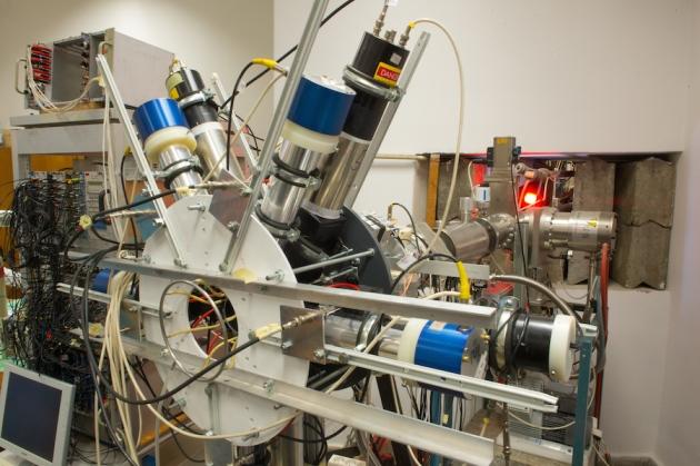 Os físicos do Instituto de Pesquisa Nuclear de Debrecen, na Hungria, afirmam que este aparelho encontrou evidências de uma nova partícula