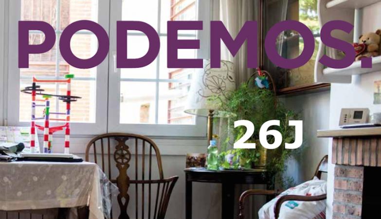 O novo programa eleitoral do Podemos é inspirado nos catálogos do IKEA