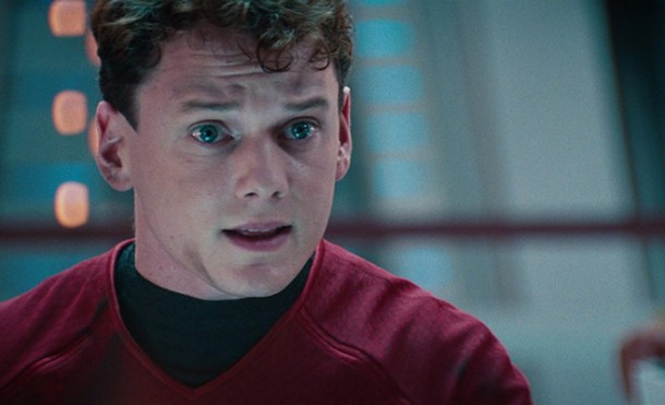Chekov na ponte da USS Enterprise de James T. Kirk